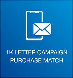 1K Letter Campaign Purchase Match