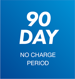 90 Day No Charge Period